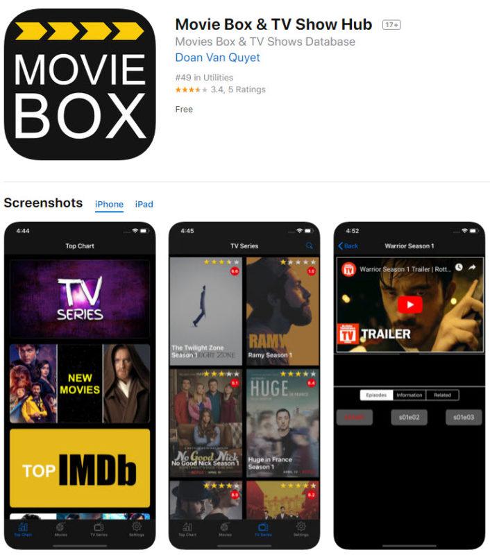 Movie Box - Show Box Clone